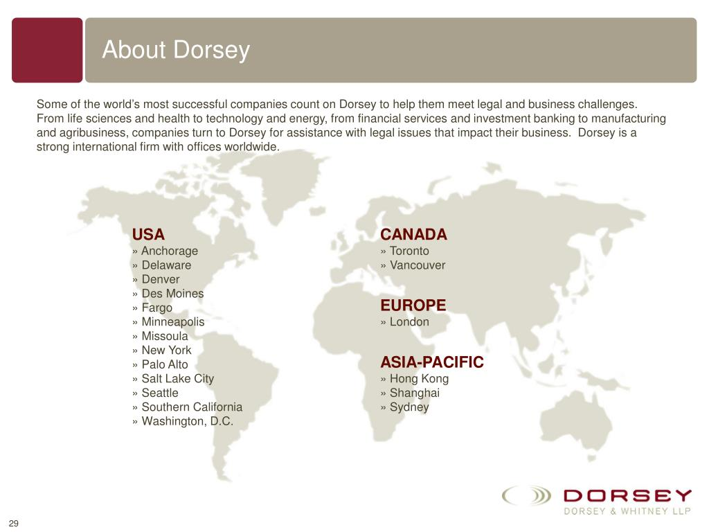 About Dorsey
