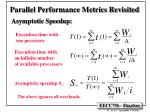 parallel performance metrics revisited5