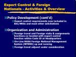 export control foreign nationals activities overview3