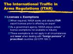 the international traffic in arms regulations itar14
