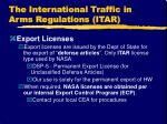the international traffic in arms regulations itar15