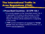 the international traffic in arms regulations itar18