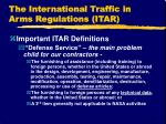 the international traffic in arms regulations itar4
