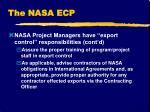 the nasa ecp1
