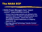 the nasa ecp2
