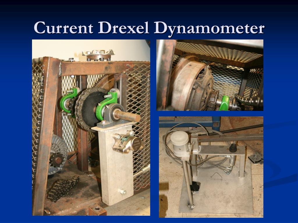 Current Drexel Dynamometer