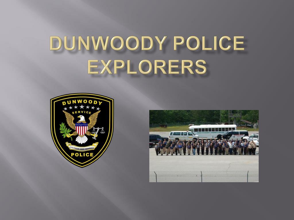 dunwoody police explorers l.