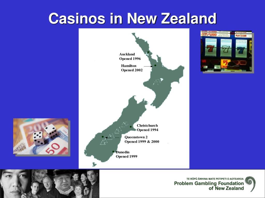 Casinos in New Zealand