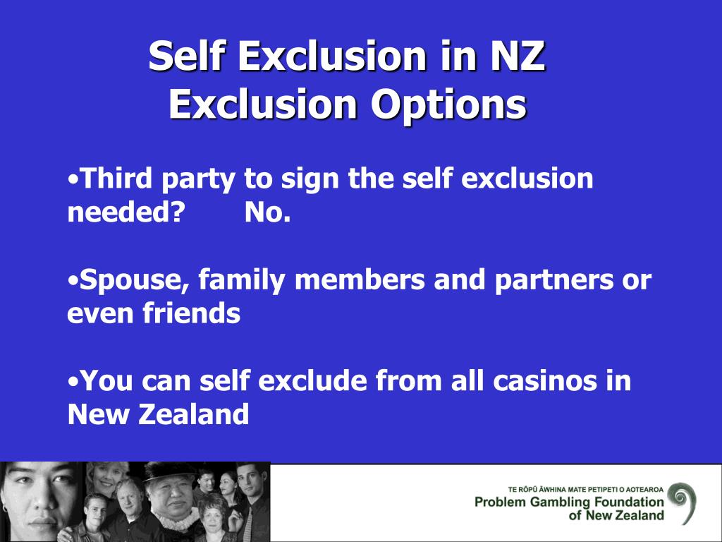 Self Exclusion in NZ