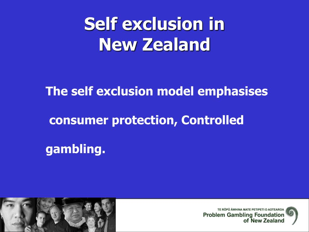 Self exclusion in