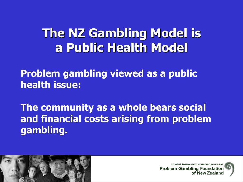 The NZ Gambling Model is