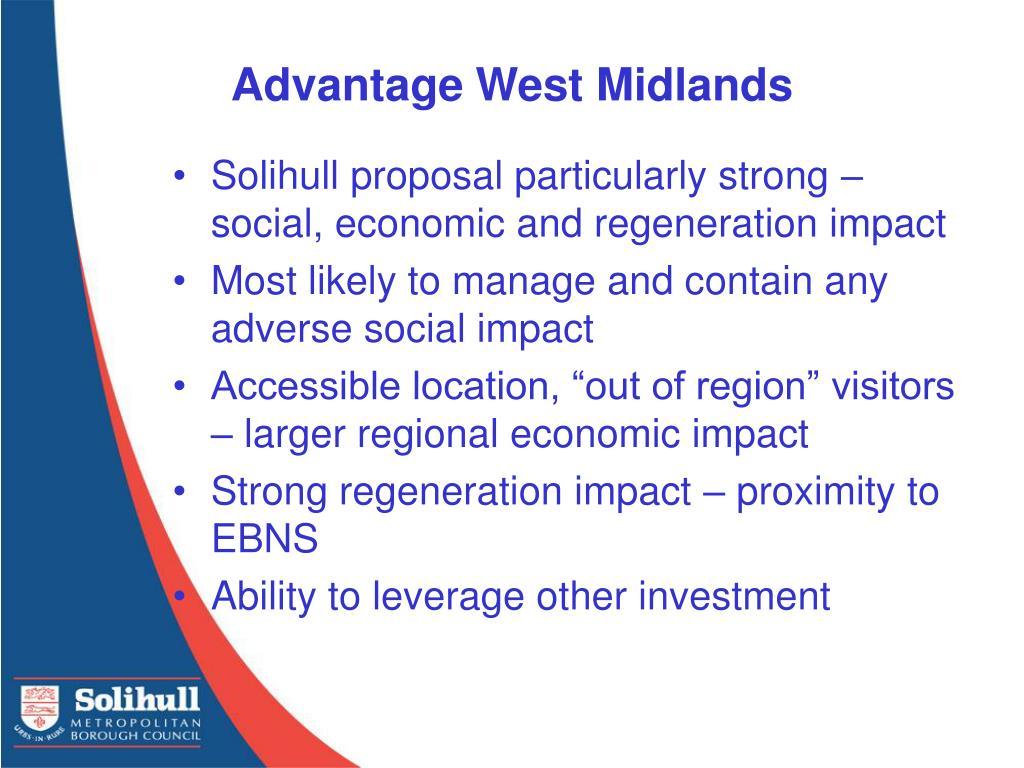 Advantage West Midlands
