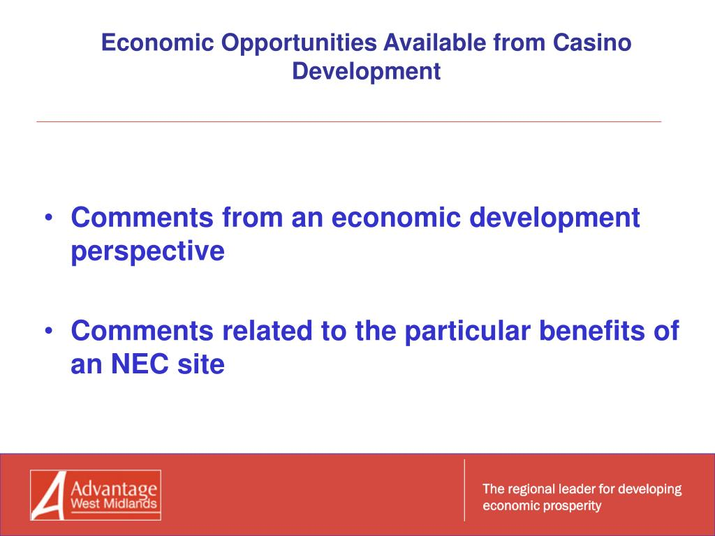 The regional leader for developing economic prosperity