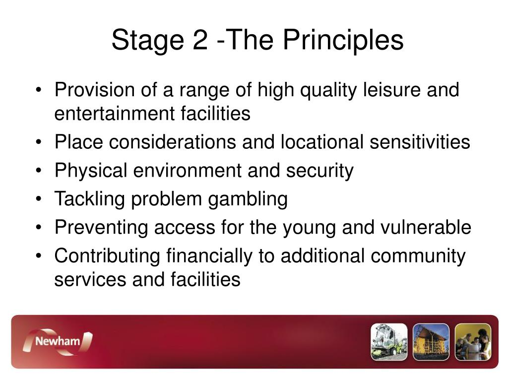 Stage 2 -The Principles