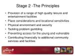 stage 2 the principles