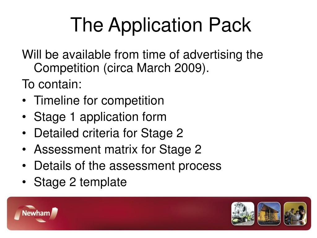 The Application Pack
