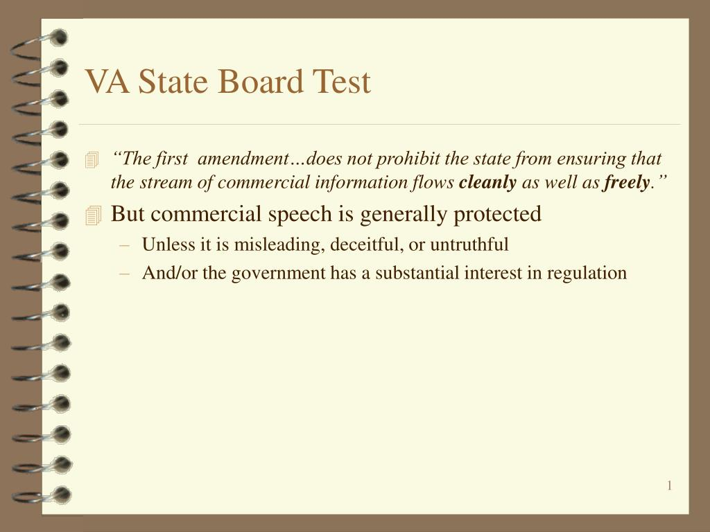 va state board test l.