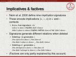 implicatives factives23