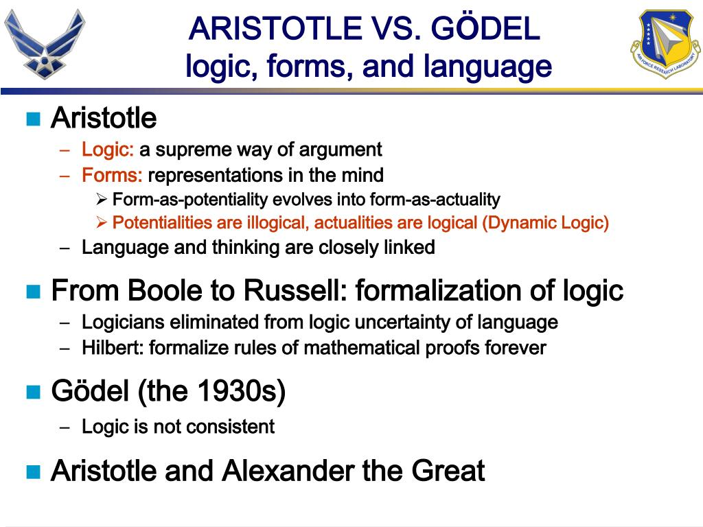 ARISTOTLE VS. G