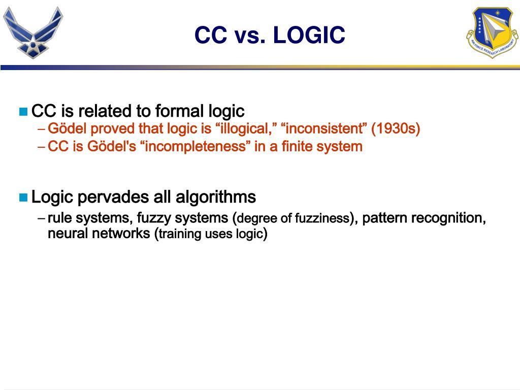 CC vs. LOGIC