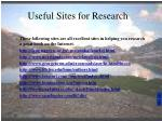useful sites for research50