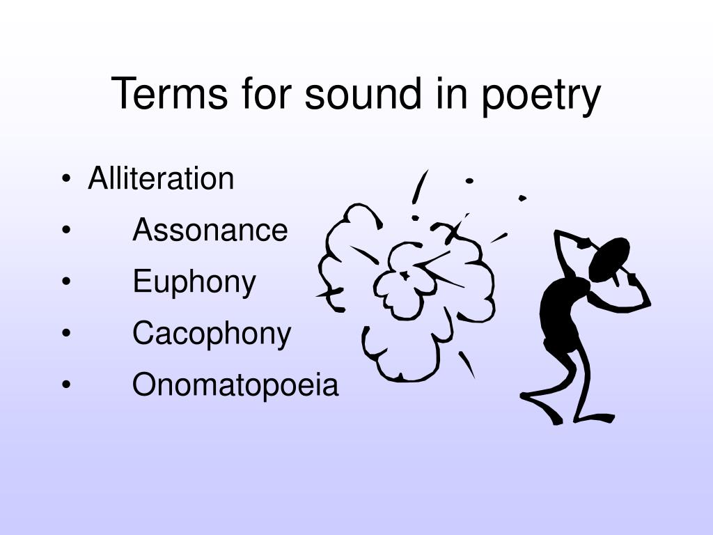 Terms for sound in poetry