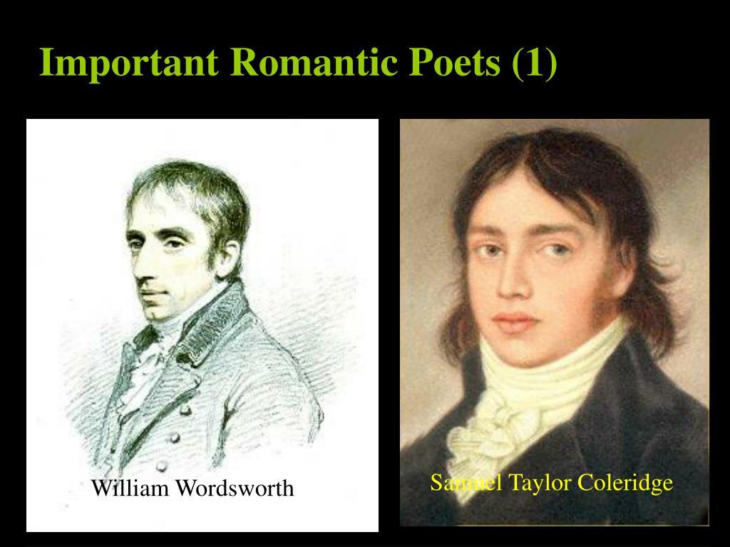 Important Romantic Poets (1)
