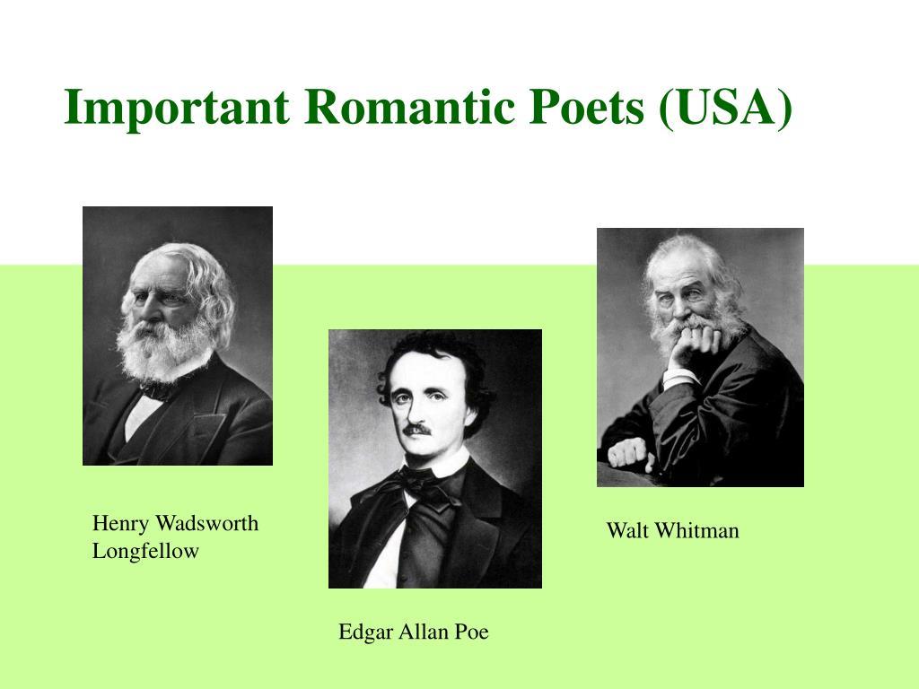 Important Romantic Poets (USA)