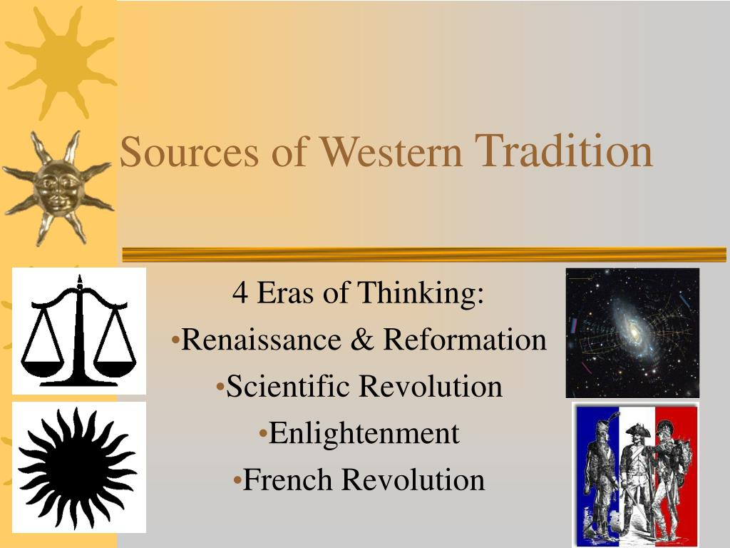 sources of western tradition l.
