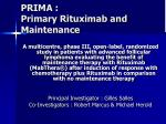 prima primary rituximab and maintenance5