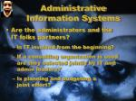 administrative information systems1