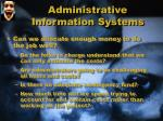 administrative information systems2