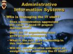 administrative information systems4