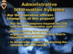 administrative information systems5