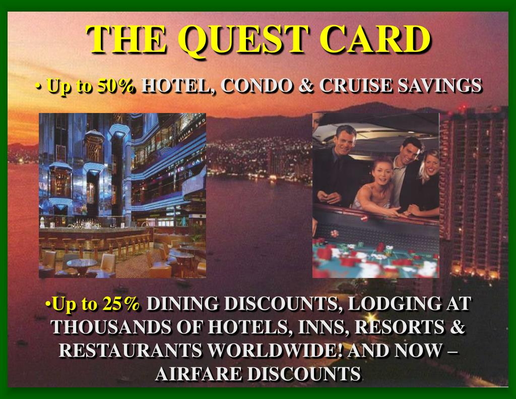 THE QUEST CARD