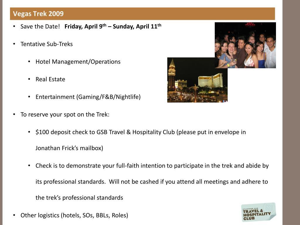Vegas Trek 2009