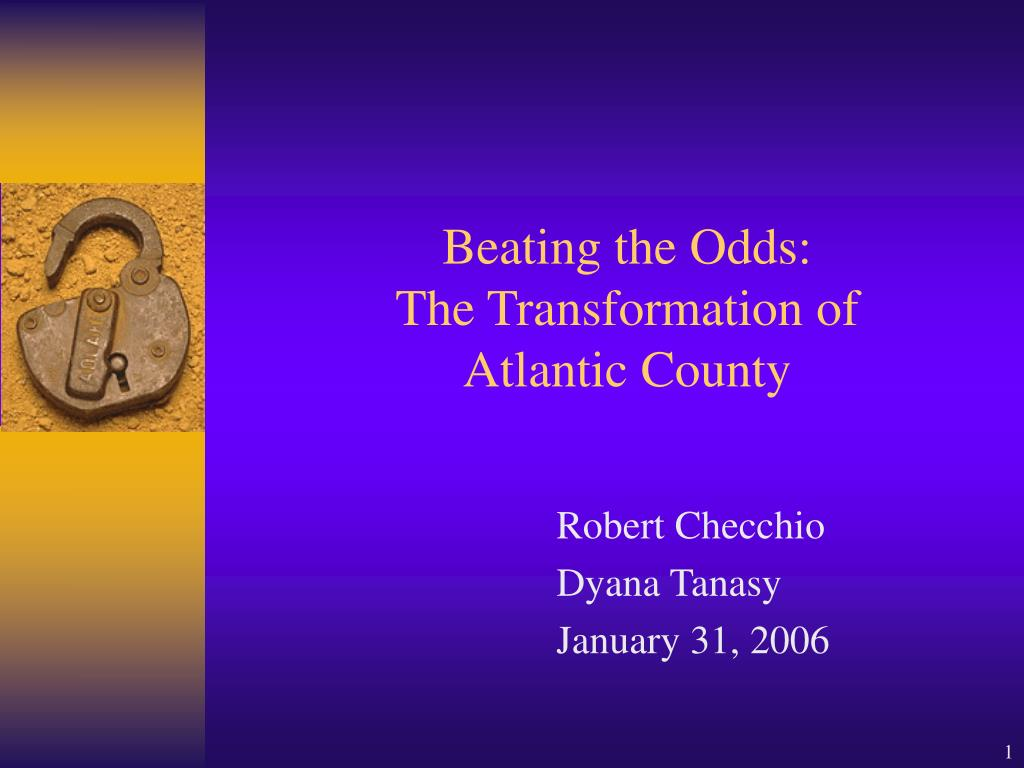beating the odds the transformation of atlantic county l.