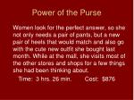 power of the purse25