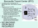 bonneville transit center btc