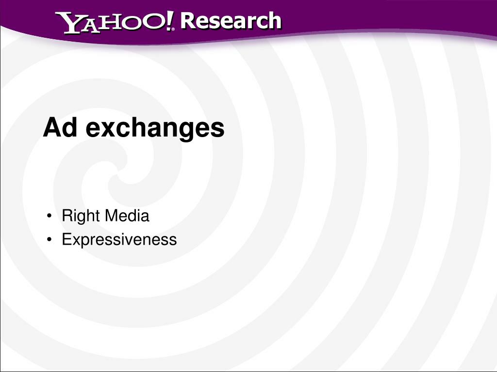 Ad exchanges