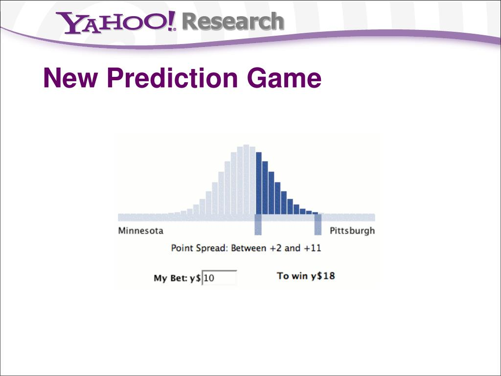 New Prediction Game