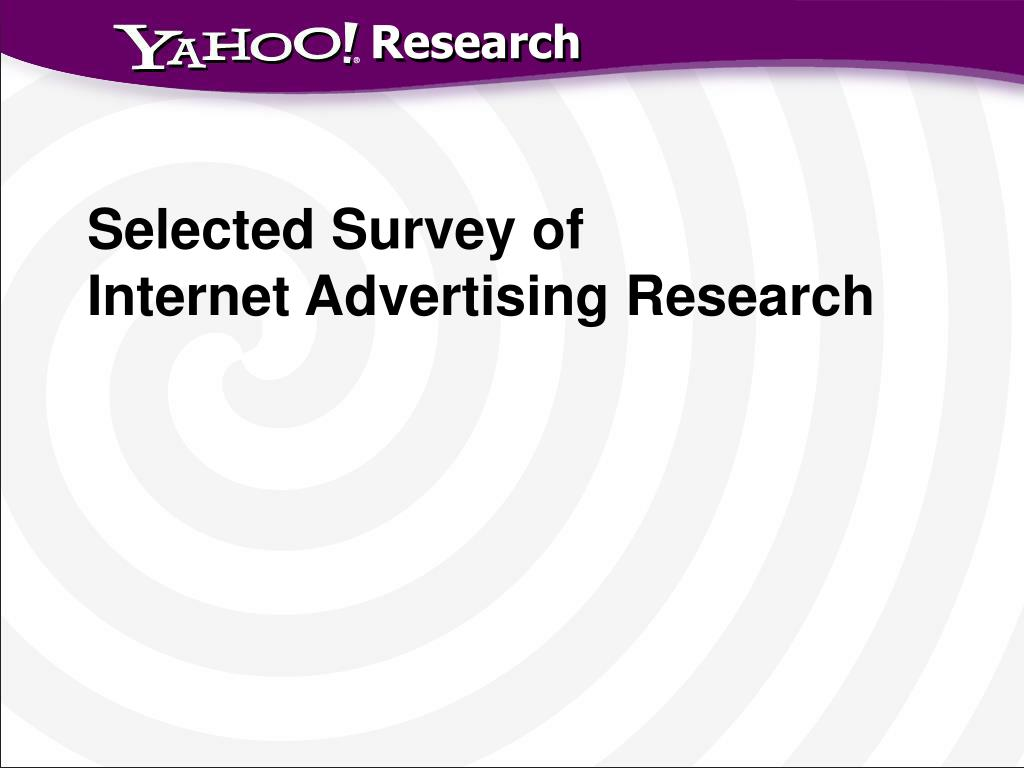 Selected Survey of