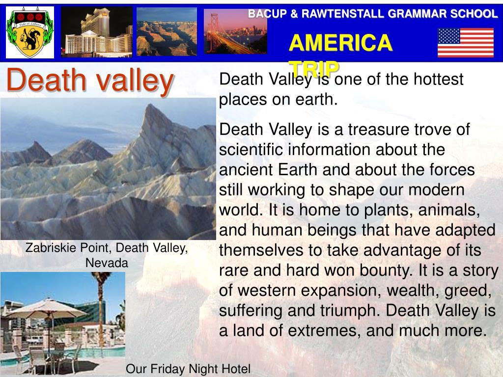 Zabriskie Point, Death Valley, Nevada