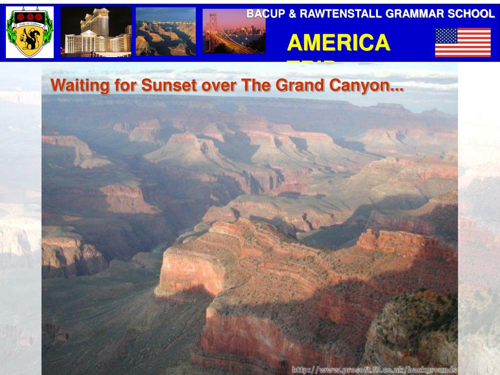 Waiting for Sunset over The Grand Canyon...