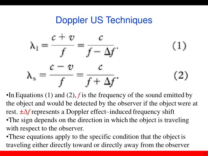 Doppler us techniques3