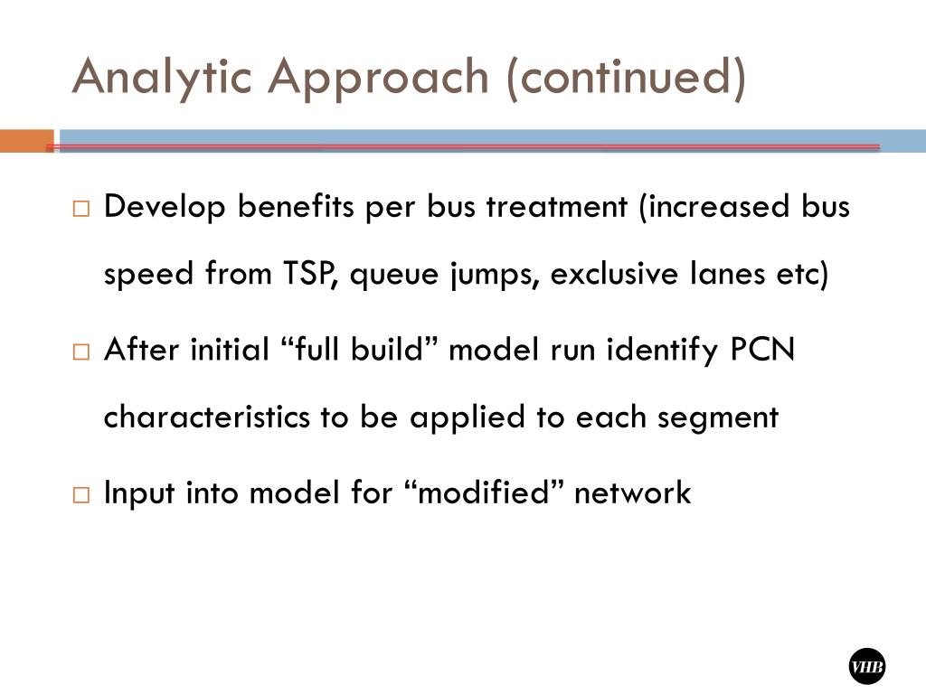 Analytic Approach (continued)