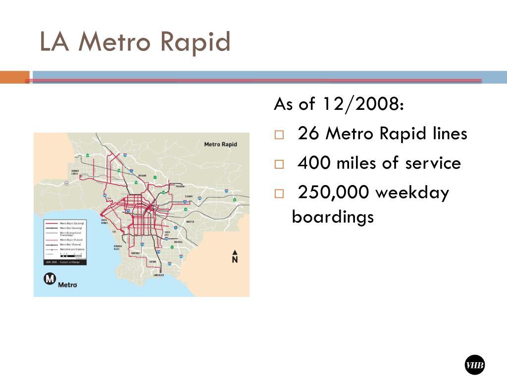 LA Metro Rapid