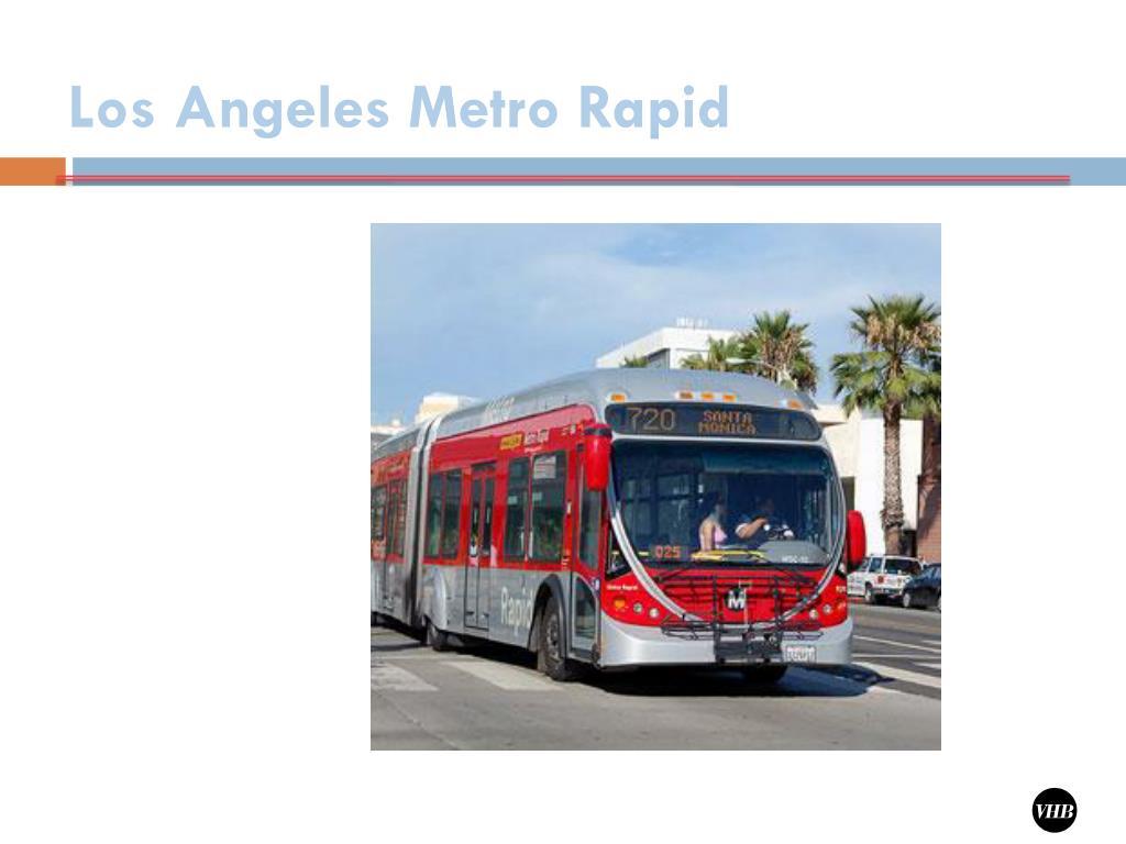 Los Angeles Metro Rapid