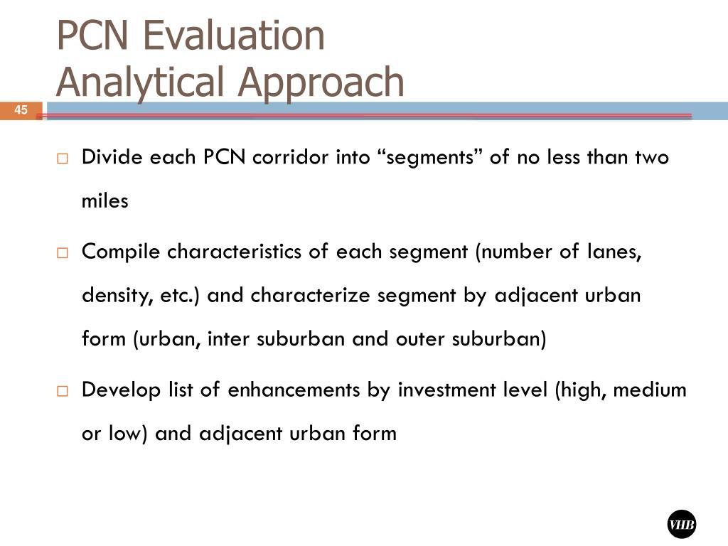 PCN Evaluation