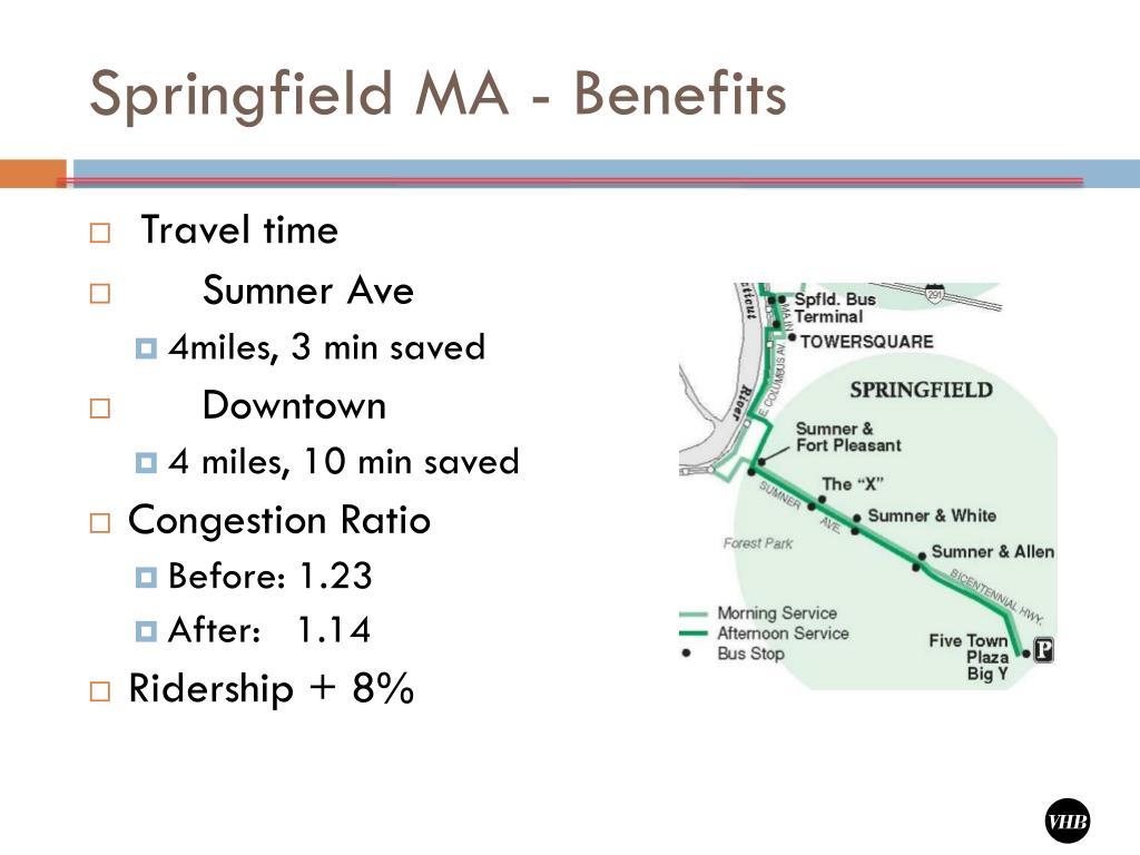 Springfield MA - Benefits